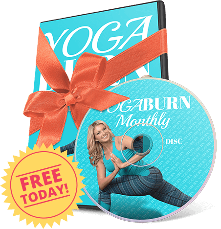 Dvd Yoga Burn Monthly