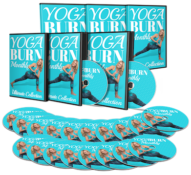 Yoga Burn Monthly Ultimate Package Pack